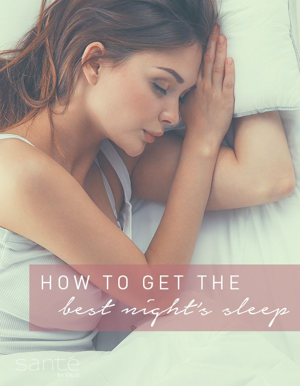 Top tips for getting the best night's sleep...zzz