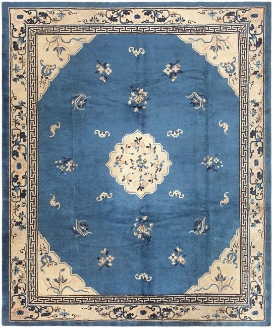 Chinese Rug Dealers: Antique Malek Chinese Rug 46820 Nazmiyal
