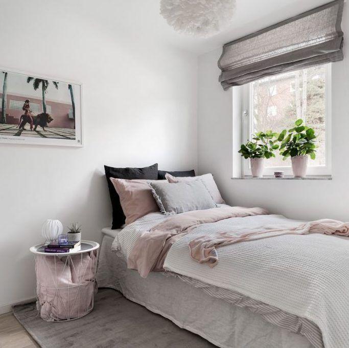 Deco Gris Rose Visite D Un Appart Douillet Deco Chambre