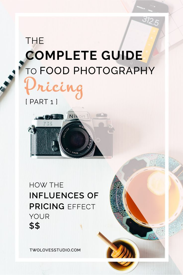 Complete Guide To Food Photography Pricing Part 1 Photography Pricing Food Photography Food Photography Tips