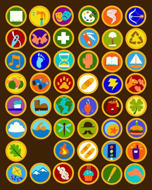Wilderness Explorer badges.