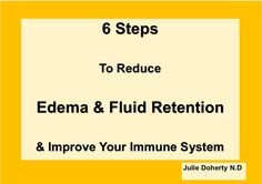 Do You Suffer from Edema or Fluid Retention? Lymph Nodes, along with Lymph Vessels and other Organs make up Your Lymphatic System The Efficiency of Your Immune System, Removal of Excess Unwanted Fluids is Essential for your Optimal Health & Detoxification of your Body's Organs I explain to you here – How this system works and How you can Best Support Effective Functioning of YOUR Lymphatic System [Read more…] http://juliedoherty.net/are-you-draining-your-lymph-nodes/