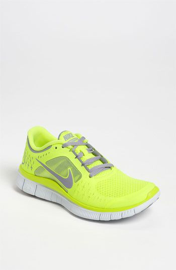 Nike 'Free Run+ 3' Running Shoe (Women) available at #Nordstrom I want the coral ones