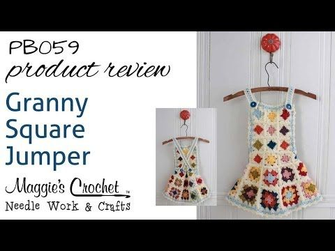 Granny Square Jumper Crochet Pattern – Maggie's Crochet
