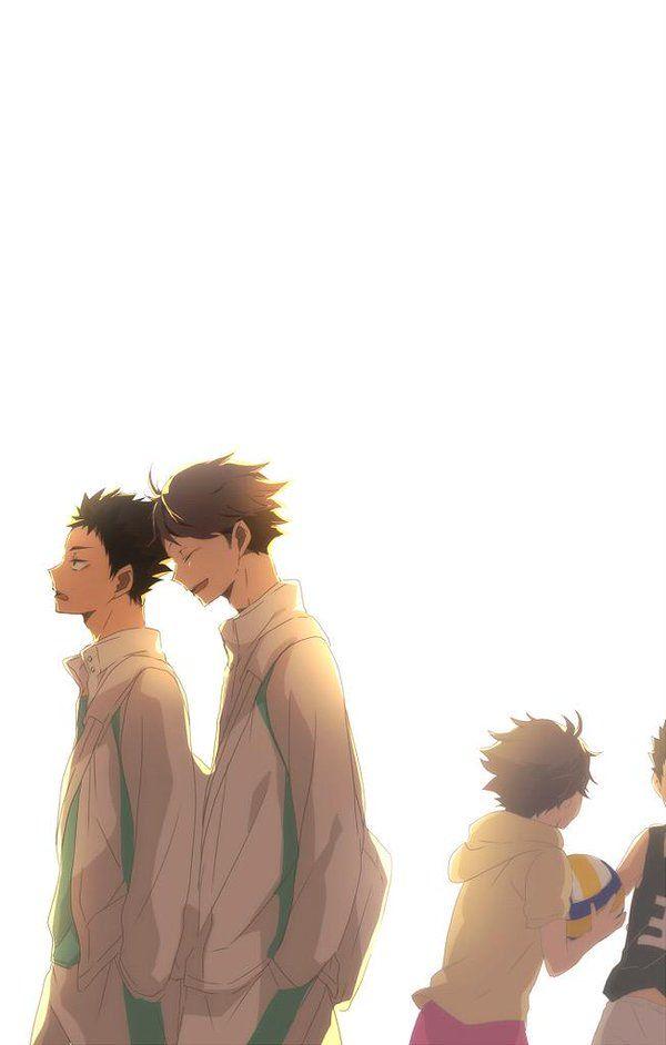 Oikawa Tooru | Iwaizumi Hajime | 光の中を往く(阿吽)