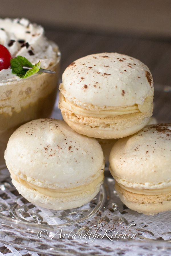 ArtandtheKitchen: Baileys Irish Cream Macarons, after trying many macaron recipes this is my favourite!