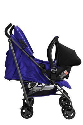 Brion Mira Seyahat Sistemi Bebek Arabası - Mavi
