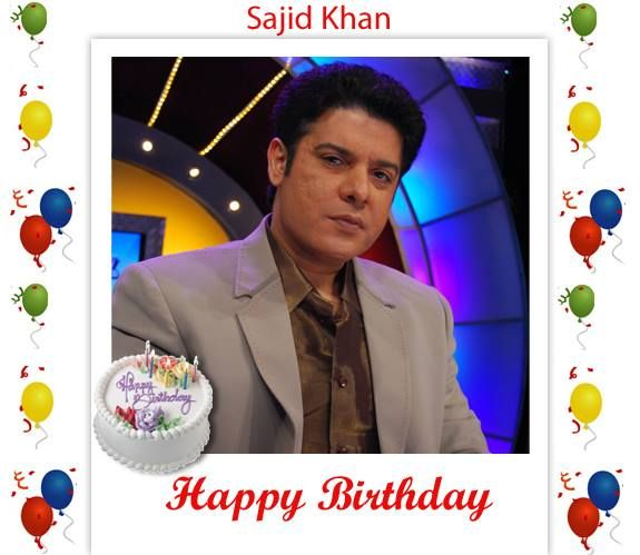 "-- HAPPY BIRTHDAY-- 23rd November. Birthday of film-maker, actor, film director, script writer ""Sajid Khan"" http://www.cinemawale.com/sajid-khan"