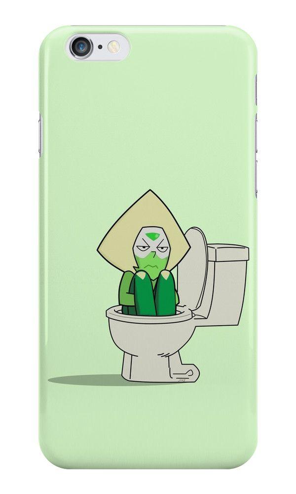 Steven Universe - Peridot in the Toilet by jomzojeda