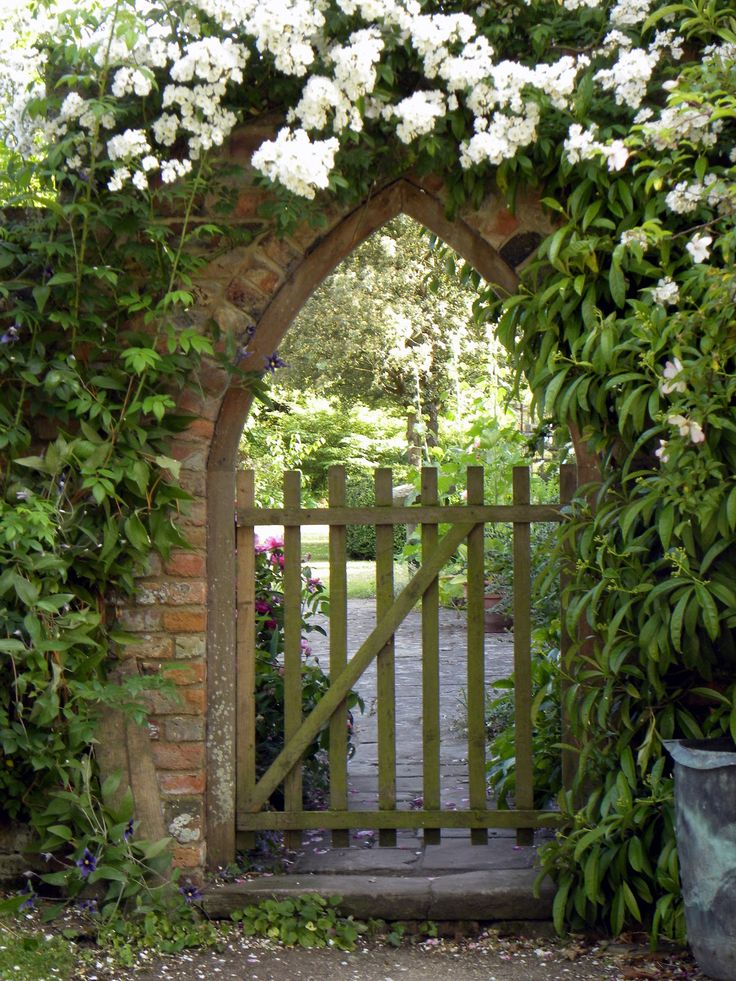 124 best garden gates images on pinterest windows for Secret garden designs