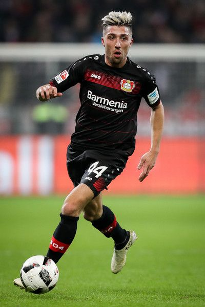 Kevin Kampl of Leverkusen controls the ball during the Bundesliga match between Bayer 04 Leverkusen and FC Ingolstadt 04 at BayArena on December 18, 2016 in Leverkusen, Germany.