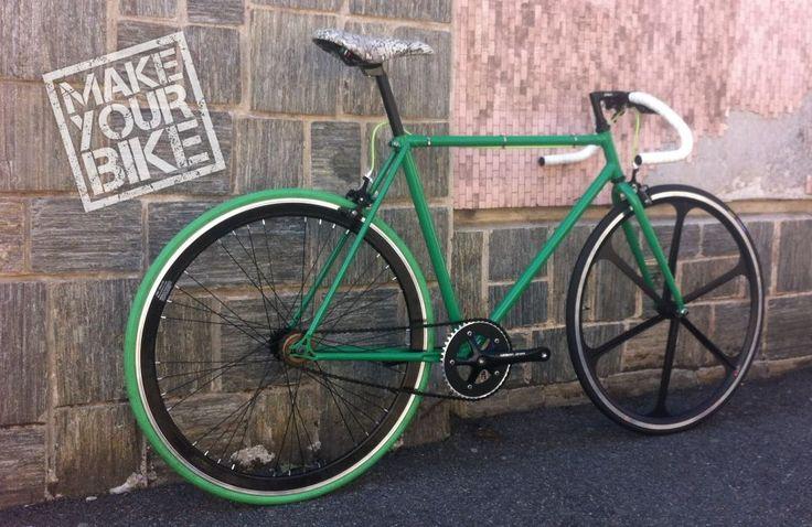 Galleria - La bici di Gianluca | Bici personalizzate - Bici uniche - Configuratore fixed