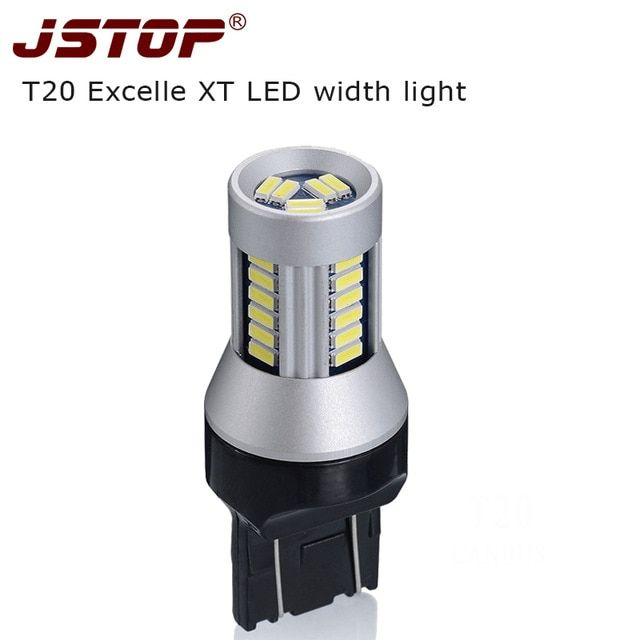 Jstop Xt Width Lights 7443 Lamp Super Bright 24v Daytime Lights Led 12v T20 W21 5w Lamp 4014smd Clearance Light Led Signal Bulbs Review Led Lights Bulb Led