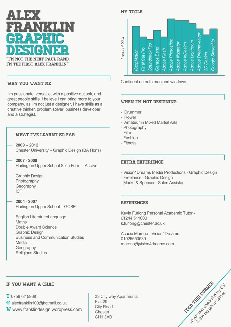 62 best CV images on Pinterest | Resume design, Cv ideas and Design ...