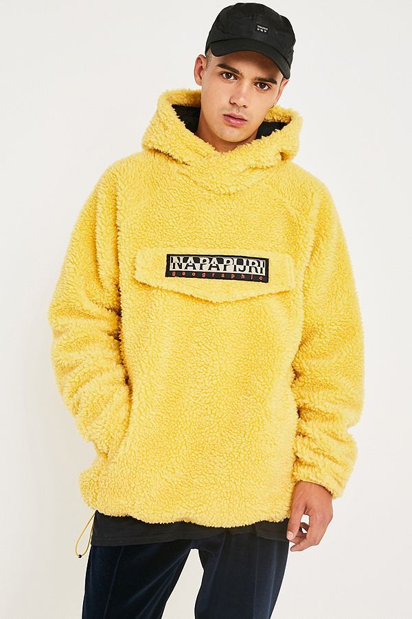 2b0a1458d Napapijri Yellow Teddy Hoodie in 2019 | L Y L E - Pre AW20 | Hoodies ...