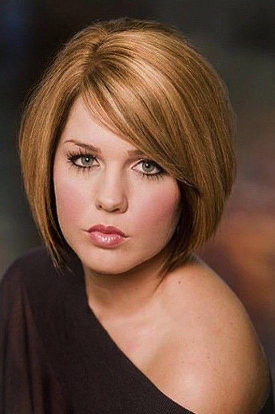 Tagli capelli corti femminili 2014 per viso tondo (Foto) | Nanopress