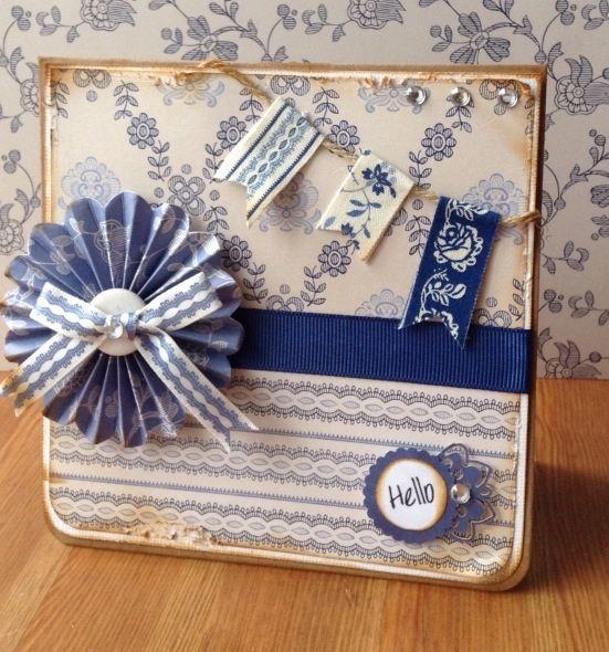Docrafts Parisienne Blue