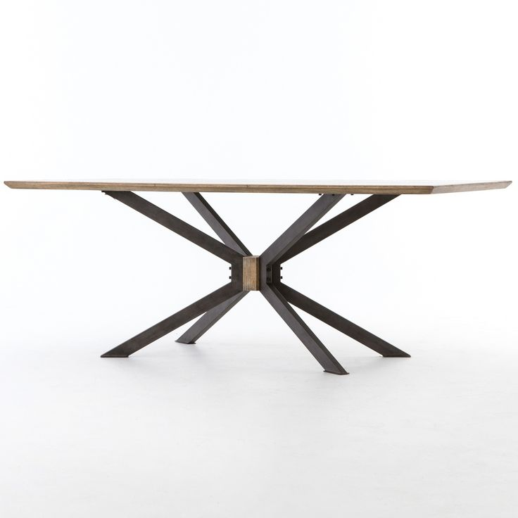 "Industrial Spider Leg Brass Clad Top Dining Table 79""  (https://www.zinhome.com/industrial-spider-leg-brass-clad-top-dining-table-79/)"