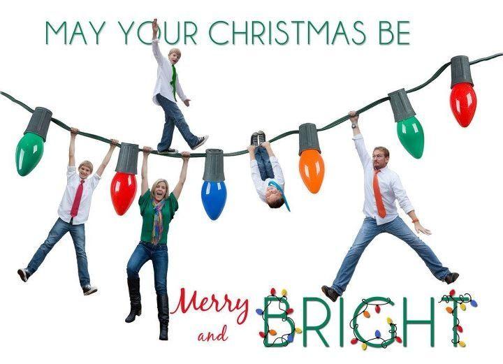 christmas card idea navidad de la familia