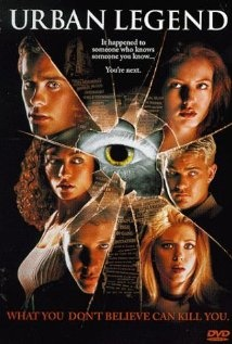 Urban Legend (1998), Phoenix Pictures with Jared Leto, Alicia Witt, Rebecca Gayheart, and Robert Englund. Fun little flick.