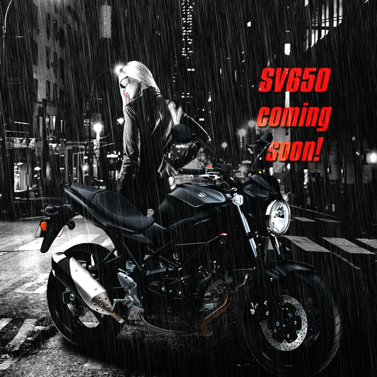 SV650 Coming Soon in 2016.