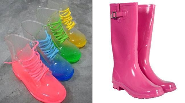 #Monsoon #Fashion: Stylish Waterproof #Footwear - Gumboots