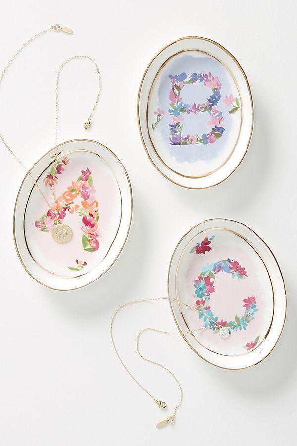 Flowery Love Trinket Dish