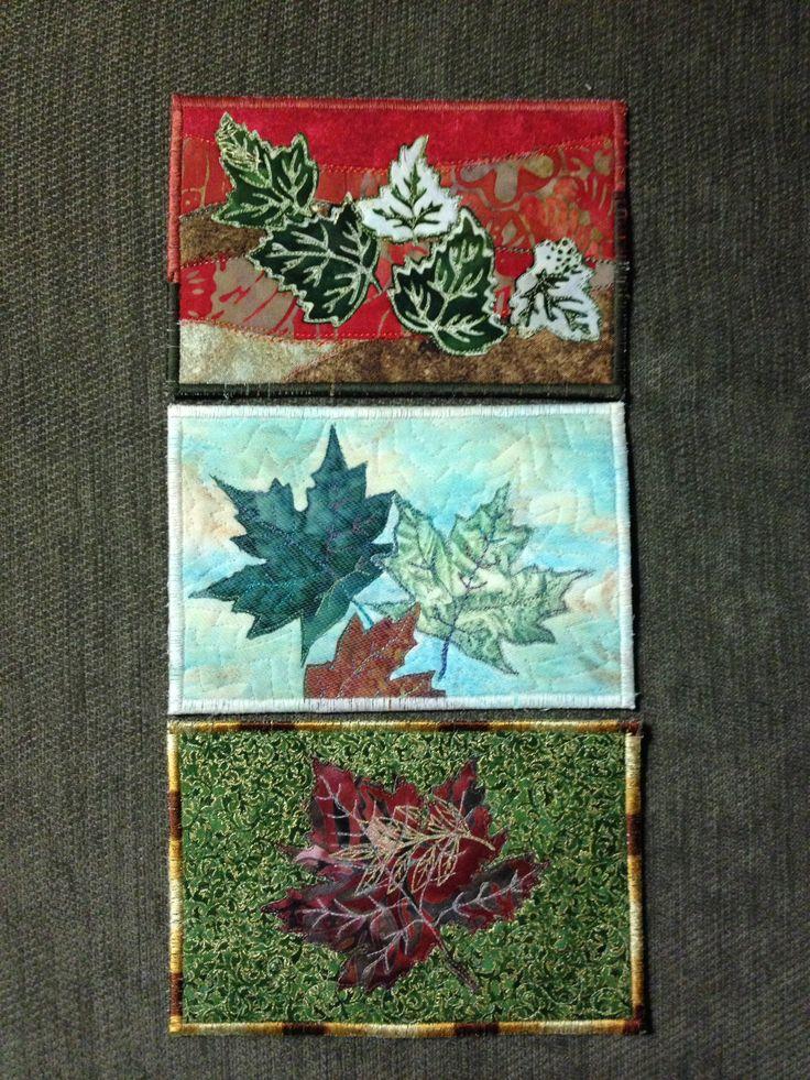 411 best FABRIC POSTCARDS images on Pinterest | Fabric postcards ... : postcard quilts - Adamdwight.com