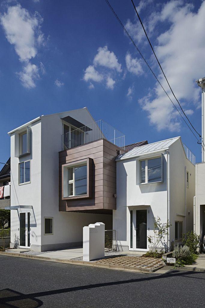 池田雪絵建築設計事務所 の オリジナルな 家 sandwich apartment