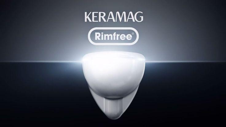 Keramag Rimfree WC - Functionality