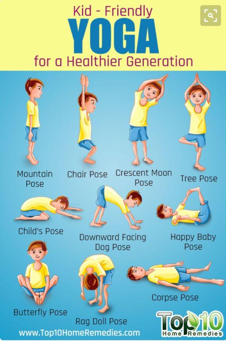 Beginning Yoga For Kids – TexasSportsGirl                                                                                                                                                                                 More