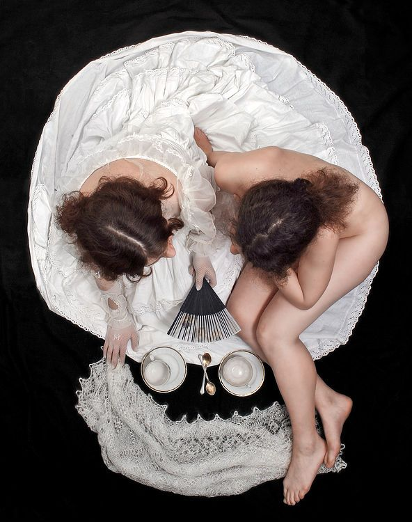 serge n kozintsev, morning tea.