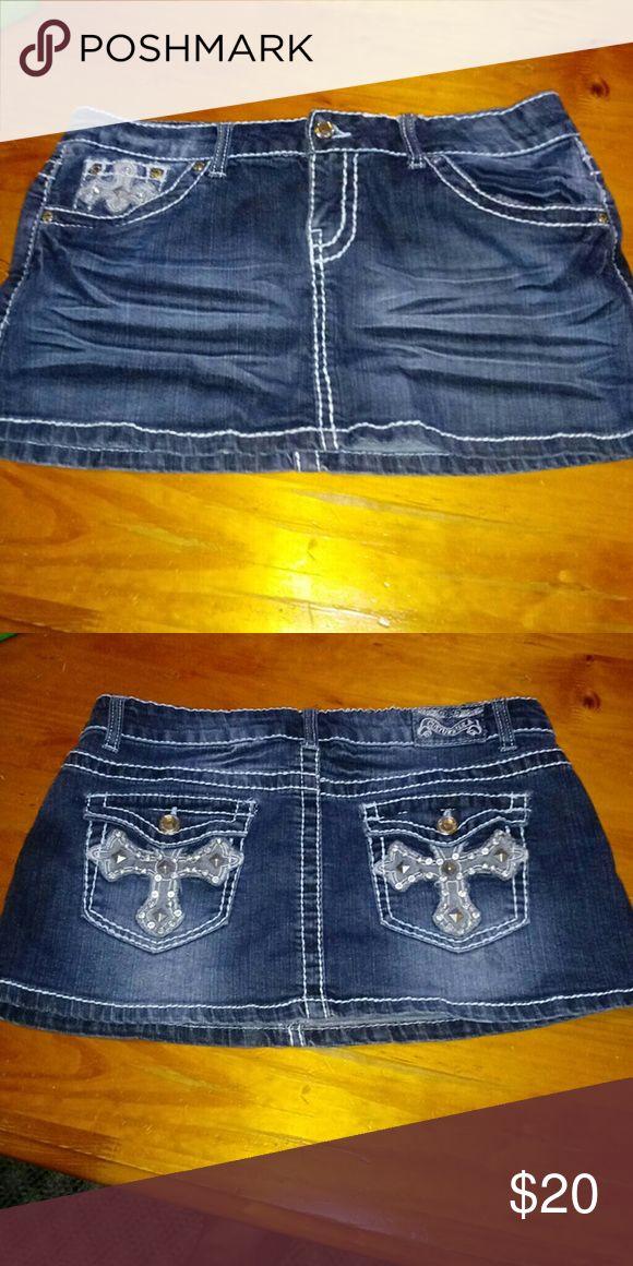 Jean mini skirt Culture jeans mini skirt culture u.s.a Skirts Mini
