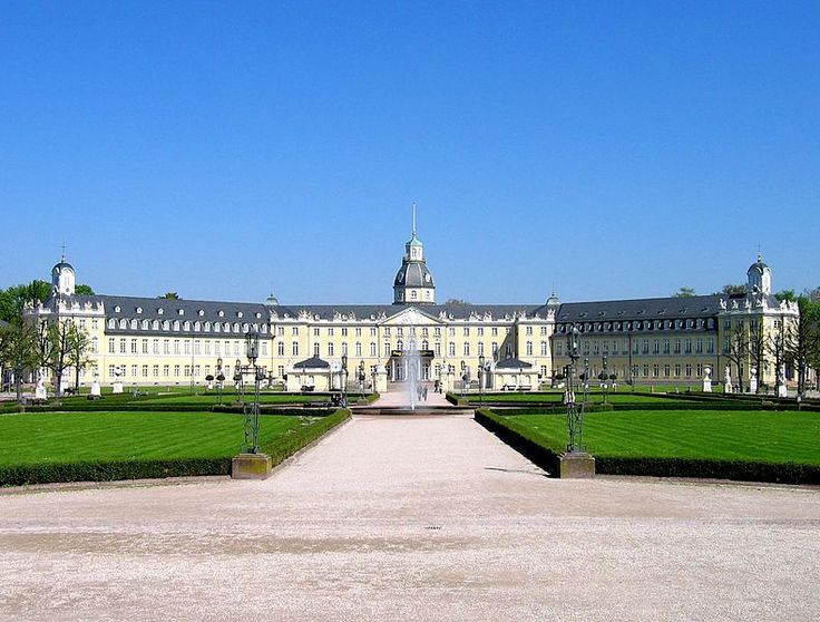 Karlsruhe Palace was erected in 1715 by Margrave Charles III William of Baden-Durlach, after a dispute with the citizens of his previous capital, Durlach. The city of Karlsruhe has since grown around it.