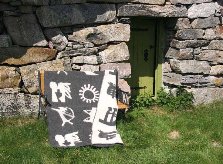 Vingtorpledd med Norrøne symboler fra vikingetiden.