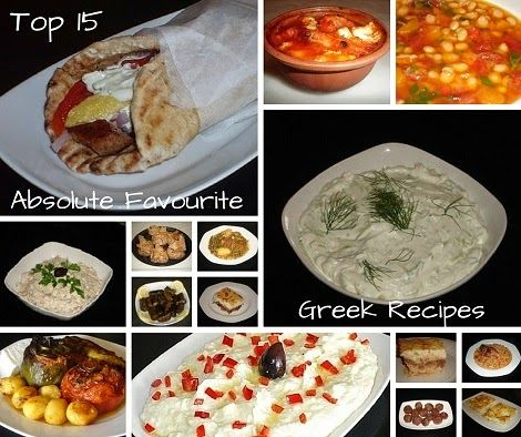 Authentic Greek Recipes: Top 15 Absolute Favourite Greek Recipes