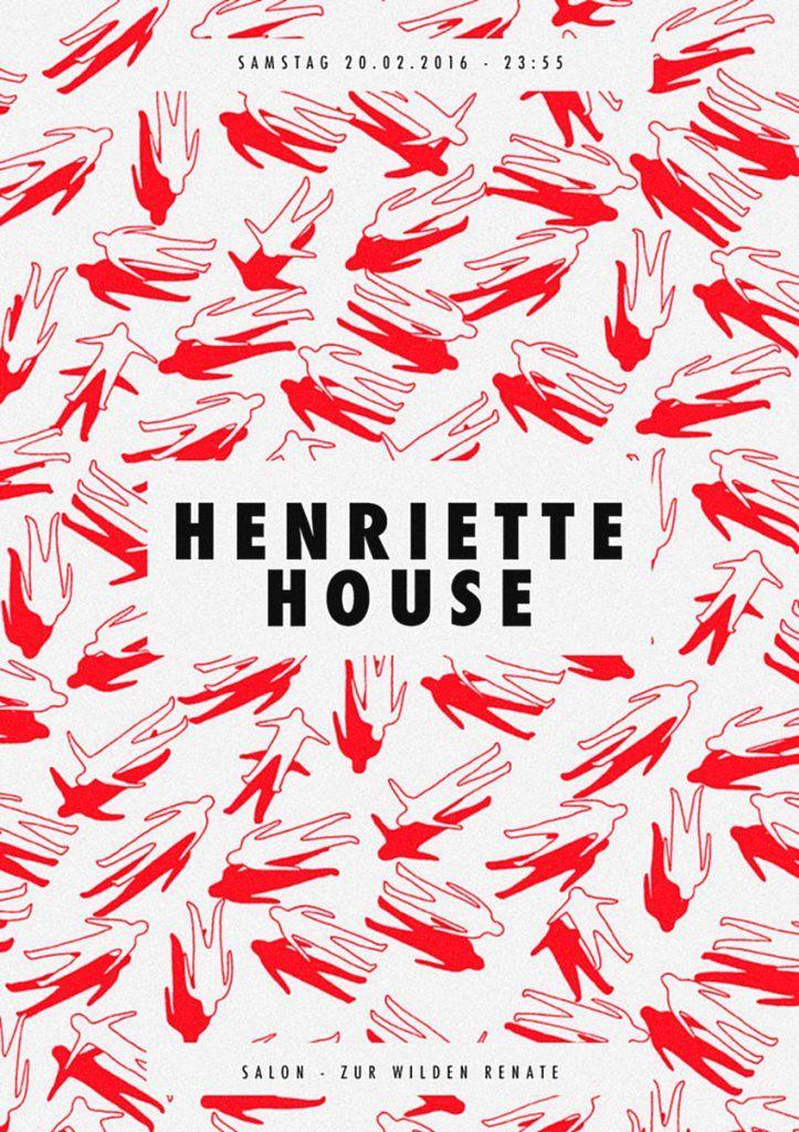 RA: Henriette House /w. Tony Lionni, Brett Johnson, Quarion & More at Salon Zur Wilden Renate, Berlin