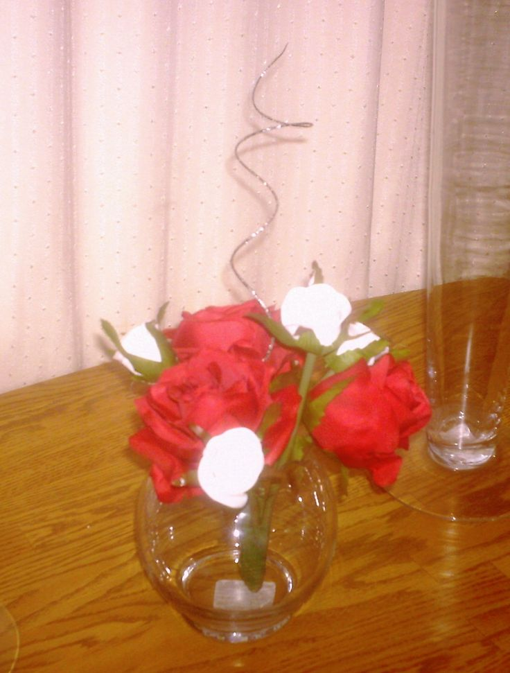 Small table arrangement for Cassie's Wedding