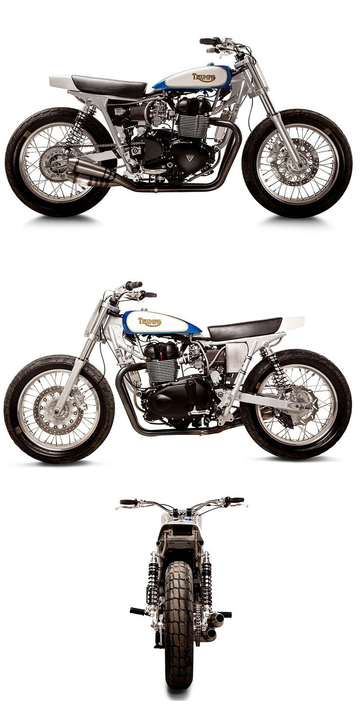 A Triumph Tracker from Richard Pollock of Mule Motorcycles