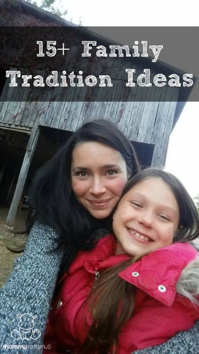 Research shows that focusing our lives around experiences rather than things creates more lasting happiness. Here's a list of 15+ SIMPLE family tradition ideas to help your family create rich experiences and lasting memories.
