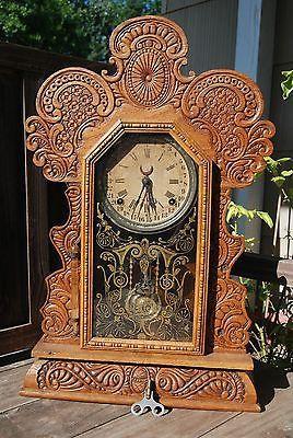 Antique Mantel Clocks for Sale | ... Mantle Clock Rare Perpetual Calendar Clock used, new for sale