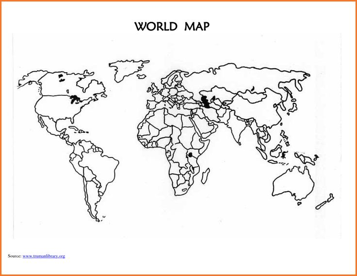 The 25 Best World Map Template Ideas On Pinterest: World Map Stencil Printable At Slyspyder.com