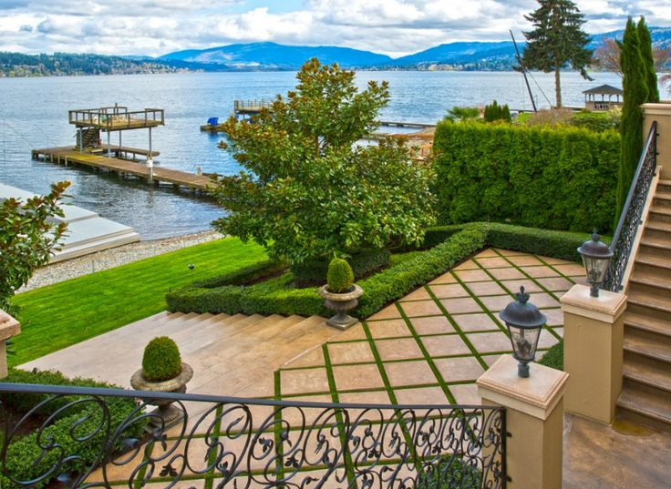 Perfect, peaceful views from your new estate on Lake Sammamish, WA! <3 View more at http://bit.ly/1Gviage