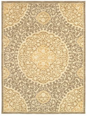 This #Havertys Alhambra Rug Is The Perfect Mix Of Muted #gold And #silver