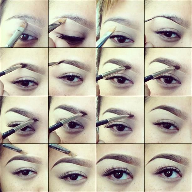 How to fill eyebrow by Pala Foxia (M.U.A) #makeup #pictorial
