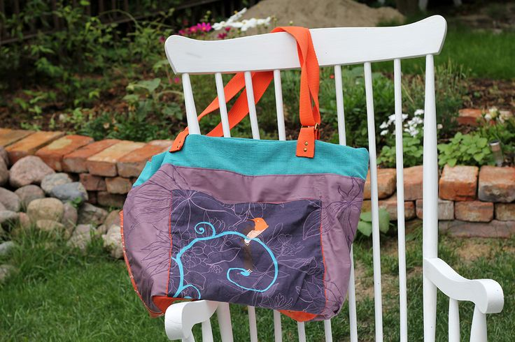 bag !Hola! front page 1200bag HOLA! embroidered, aplicated, key holder; front page