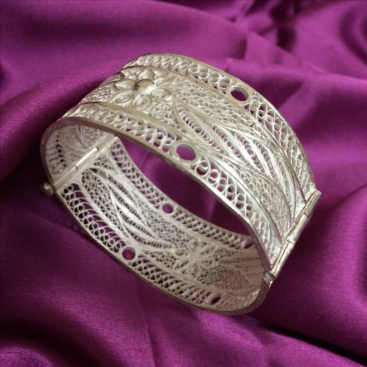 Silver Bangles handcrafted in Cuttack by Silver Linings  - for Rs 3300/-