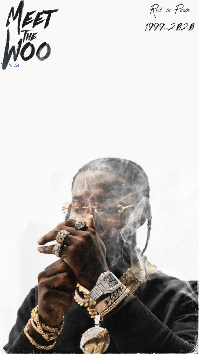 Meet The Woo V2 Iphone Wallpaper Popsmoke Smoke Wallpaper Iphone Wallpaper Rap Rap Wallpaper