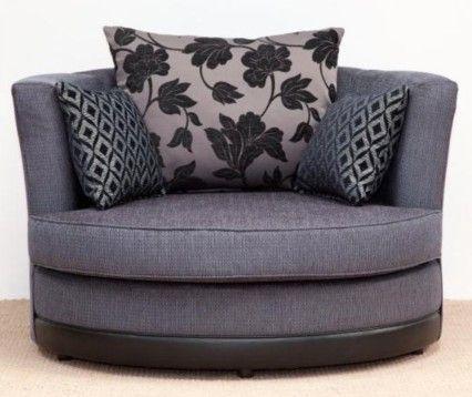 vermont swivel cuddle chair various colours