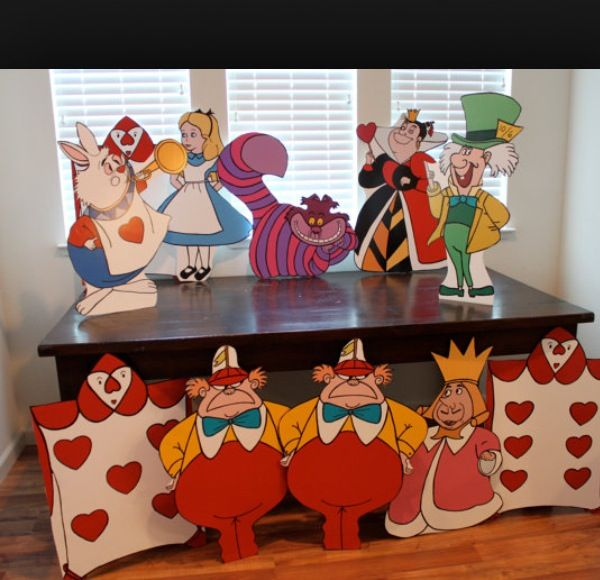 37 best alice in wonderland birthday party free for Decorating ideas alice in wonderland themed party